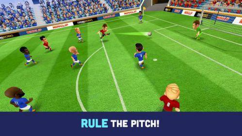 Mini Football mod chạy tăng tốc