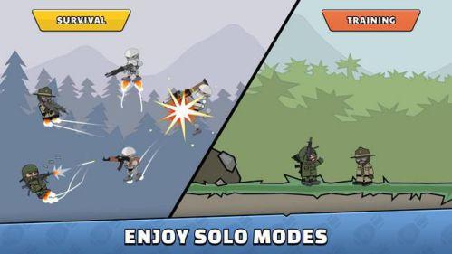 Mini Militia - Doodle Army 2 bắn súng