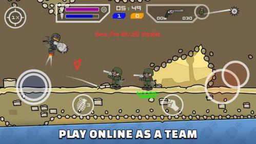 Mini Militia - Doodle Army 2 kinh điển