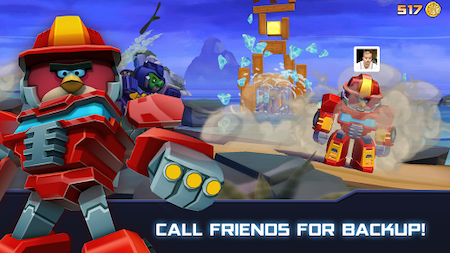 cai dat Angry Birds Transformers mod