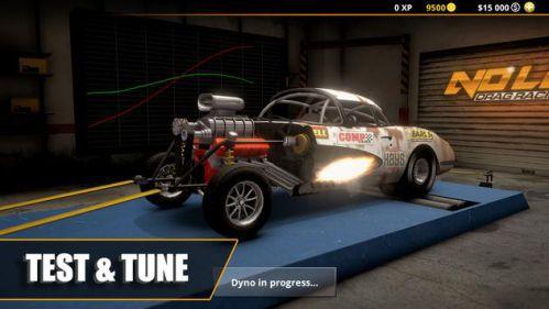 No Limit Drag Racing 2 game đua xe