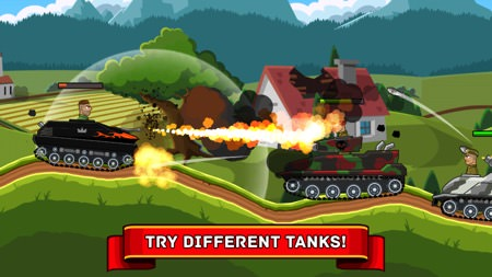 Game Hills of Steel cho iPhone
