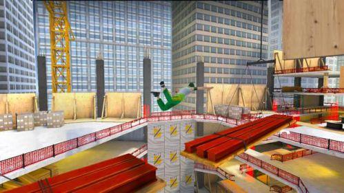 Parkour Simulator 3D leo trèo