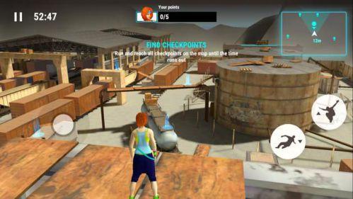 Parkour Simulator 3D mod tôn trọng cao