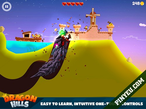 game android Dragon Hills