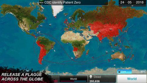 Plague Inc lây lan vi rút