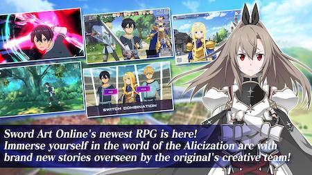 Tải Sword Art Online Alicization Rising Steel mod apk