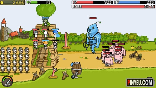 Game hay cho Android Grow Castle