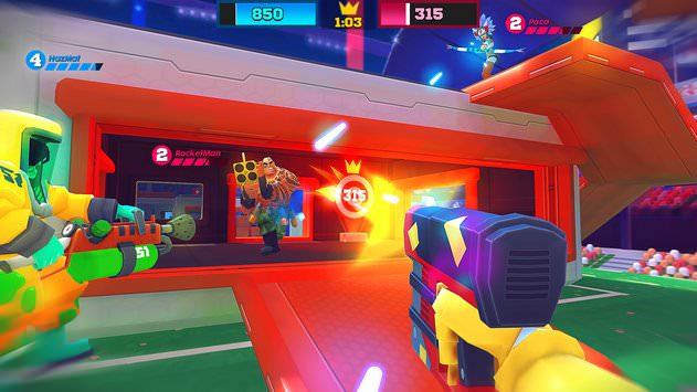 Game ban sung android, ios FRAG Pro Shooter