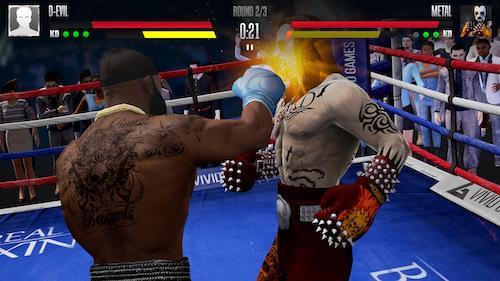 Real Boxing 2 mod vô hạn tiền