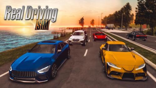 Real Driving Sim mod vô hạn tiền