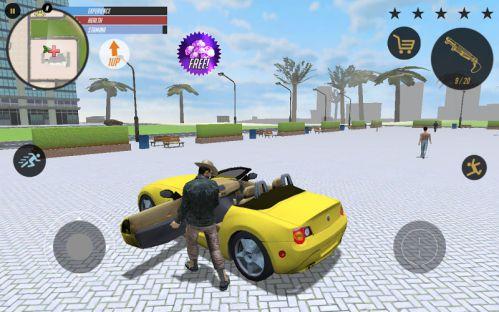 Real Gangster Crime 2 mod vô hạn tiền
