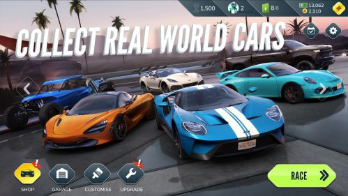 Rebel Racing mod đóng băng đối thủ