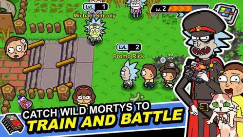 Rick and Morty huấn luyện quái vật
