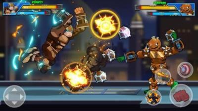 Robot Super mod full skill