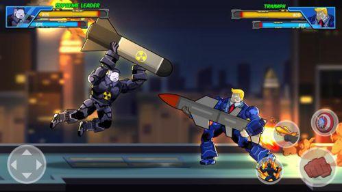 Robot Super mod mở khóa anh hùng