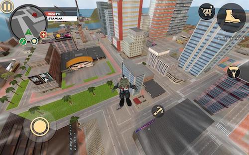 Rope Hero Vice Town mod vô hạn tiền
