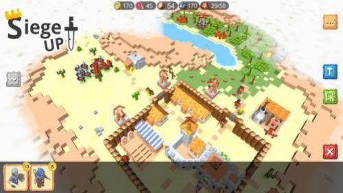 RTS Siege Up chiến lược