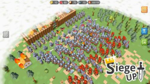 RTS Siege Up đánh bại kẻ thù