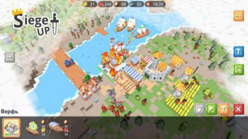RTS Siege Up xây dựng vương quốc