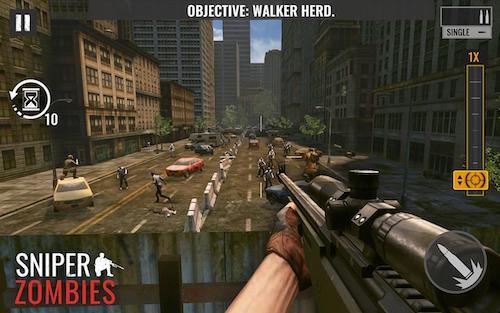 Sniper Zombies mod vô hạn tiền