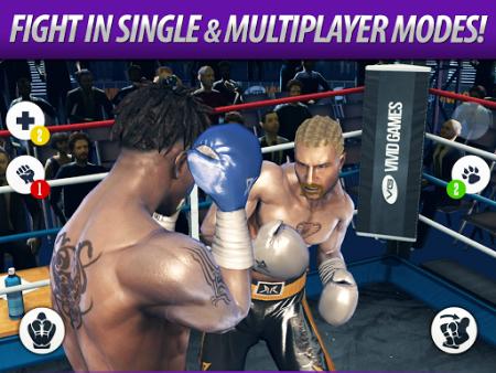 Real Boxing mod vô hạn tiền