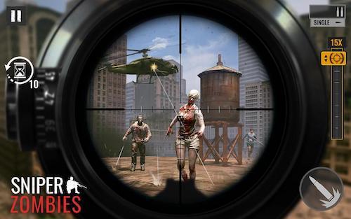 Sniper Zombies game súng bắn tỉa