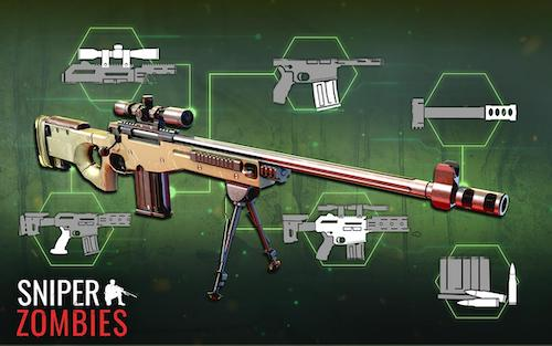 Sniper Zombies game tiêu diệt zombie