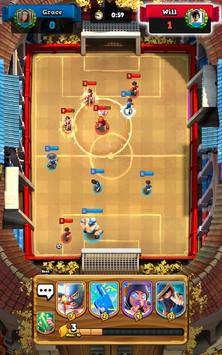 Soccer Royale thu thập thẻ