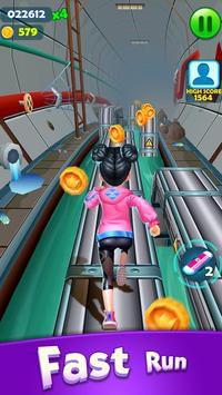 Subway Princess Runner chạy trốn khỏi cảnh sát