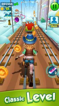 Subway Princess Runner trên đường tàu
