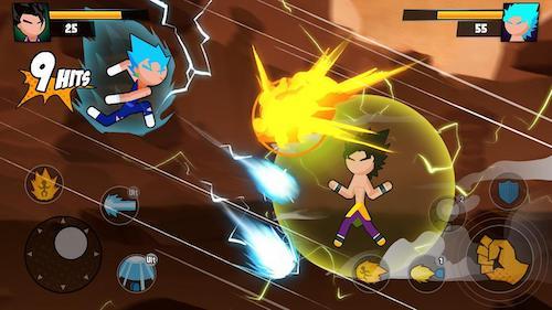 Super Dragon Stickman Battle mod money