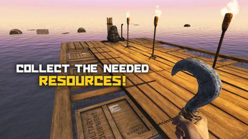 Survival on raft mod mua sắm