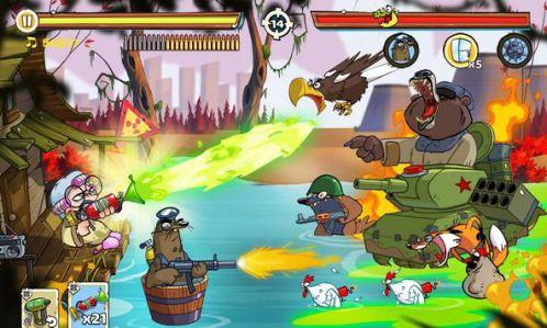 Swamp Attack bắn súng