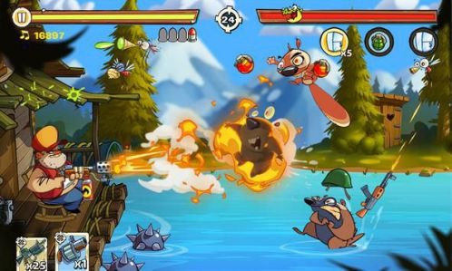 Swamp Attack game phòng thủ