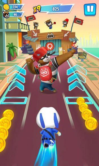 Tải Talking Tom Hero Dash mod unlimited money