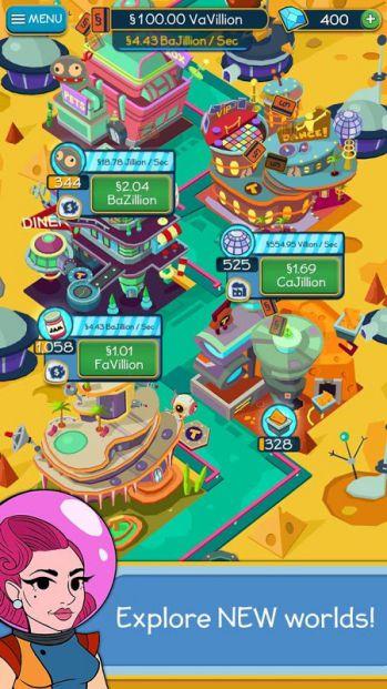 Game xây dụng thành phố Taps to Riches