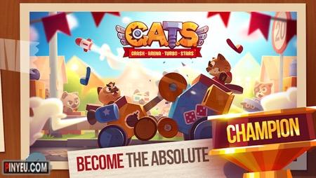 Tai game CATS: Crash Arena Turbo Stars