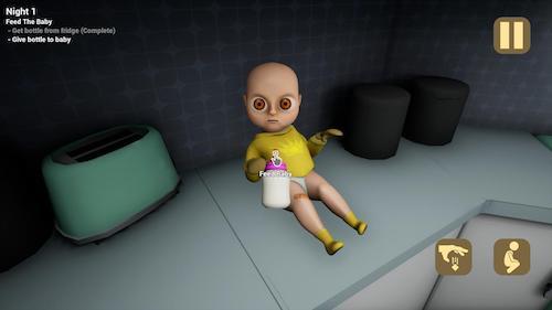 The Baby In Yellow mod không quảng cáo