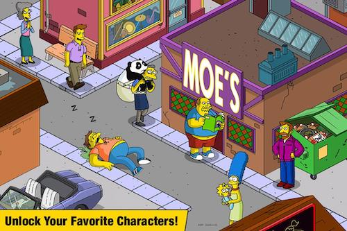 The Simpsons Tapped Out mod mua sắm