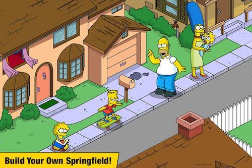 The Simpsons mod mua sắm miễn phí