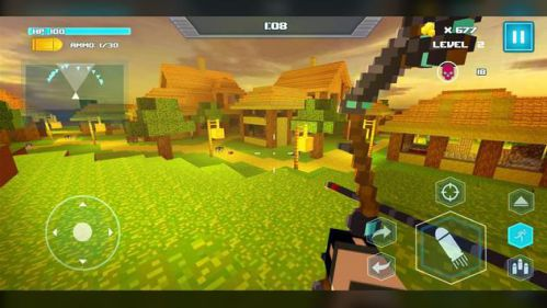 Game bắn súng minecraft