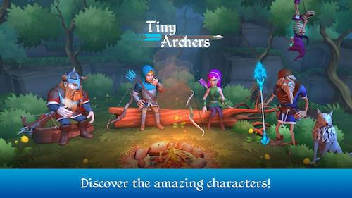 Tiny Archers game bắn cung