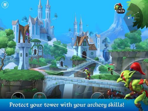Tiny Archers game thủ tháp