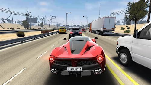 Traffic Tour mod mở khóa xe