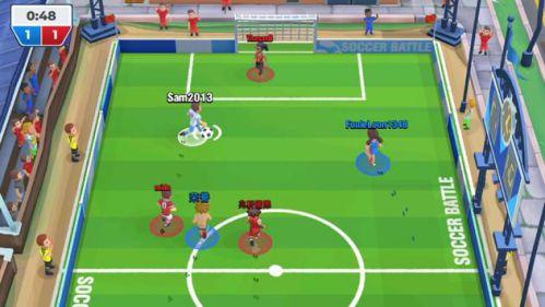 Trận bóng đá chơi với bạn bè