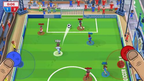 Soccer Battle mod mở khóa