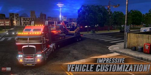 truck simulator usa mod mở khóa xe