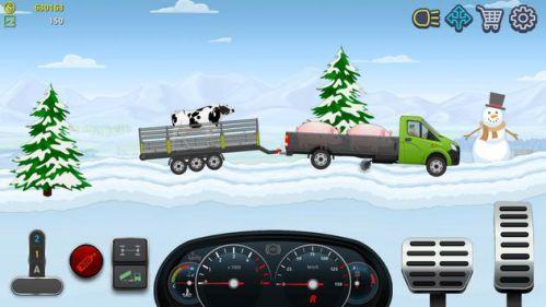 Trucker Real Wheels mod vô hạn tiền