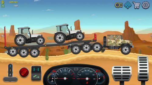 Trucker Real Wheels mod tiền